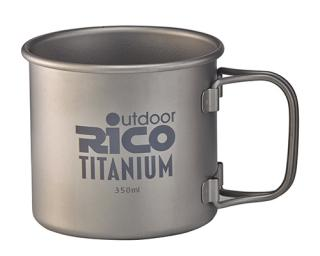 Titanium Single Wall Mug 350Ml