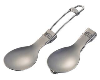 Folding Titanium Spoon