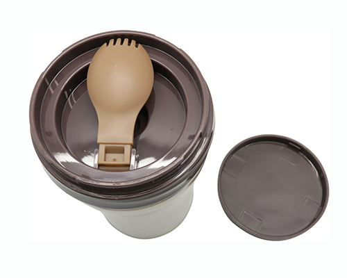 Stainless Steel Vacuum Food Jar with Spoon