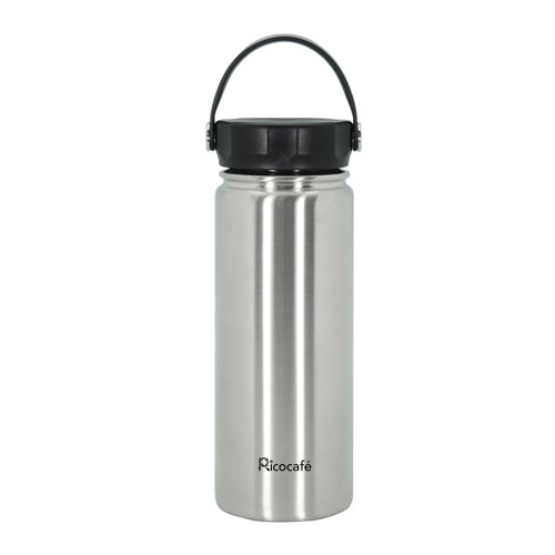 Stainless Steel Vacuum Sports Bottle With Loop 550Ml 1100Ml