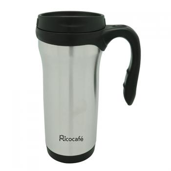 Stainless Steel Double Wall Auto Mug 400ml