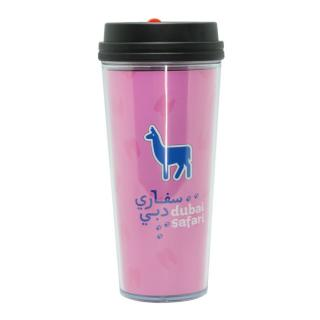 Plastic Double Wall Mug 520ml