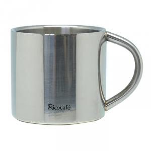 Stainless Steel Double Wall Espresso Cup 90ml