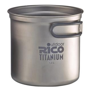 Titanium Camping Pot 1200Ml