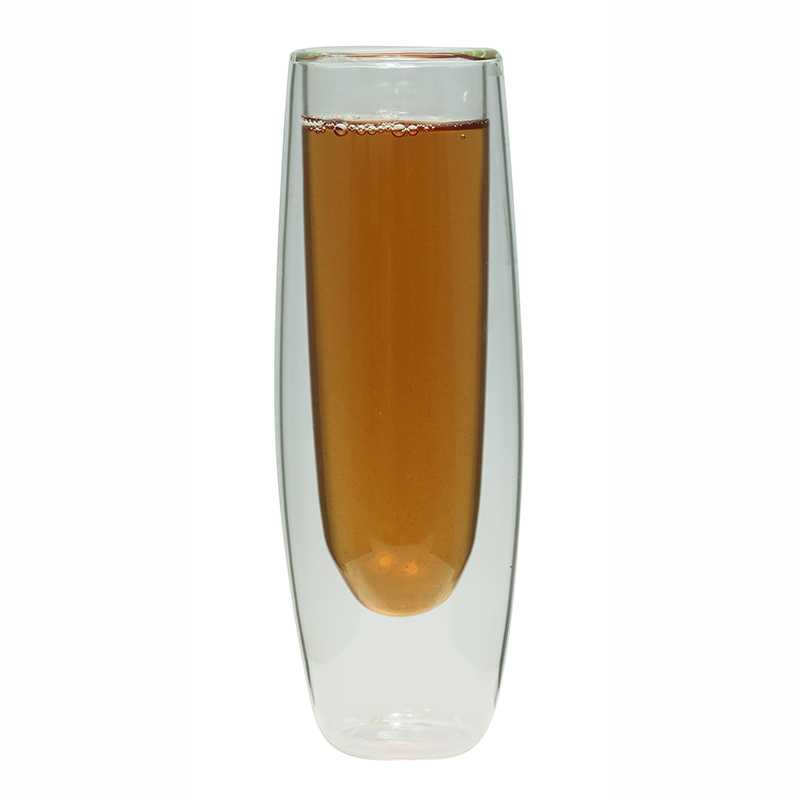 Double Wall Glass Champagne Cup