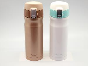 Stainless Steel Vacuum Sports Bottle With One Touch Open