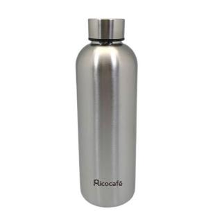 Narrow mouth stainless steel single wall water bottle