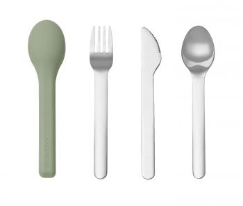 Stainless Steel 3 in 1 Cutlery Set