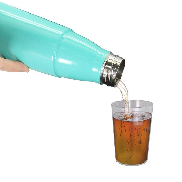 Stainless Steel Vacuum Bottle With Plastic Cup